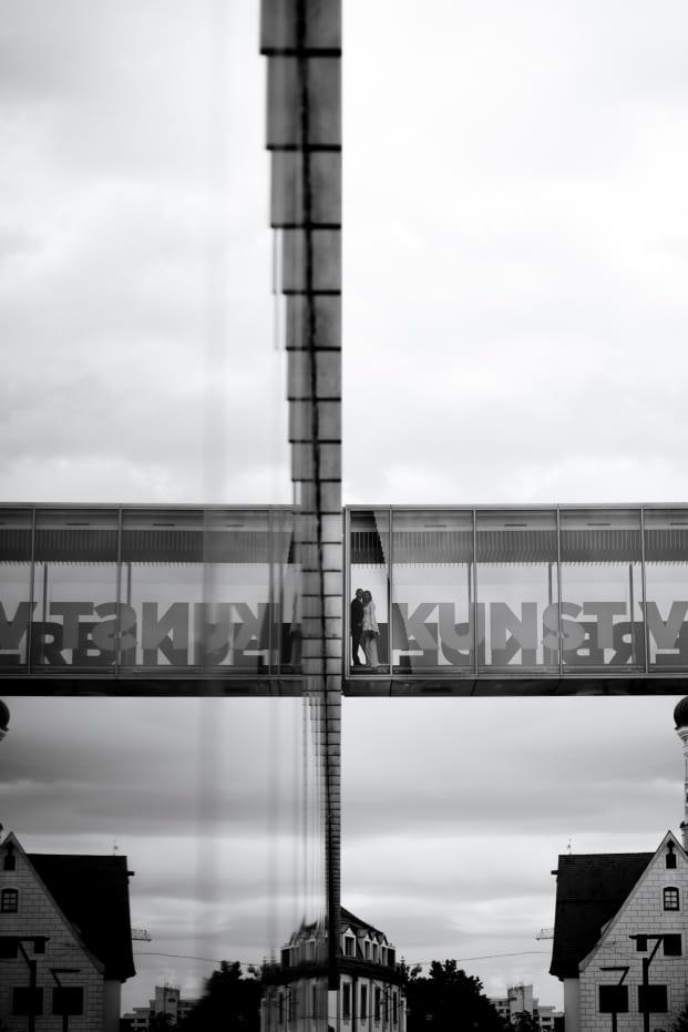 Paarbilder Coupleshooting Kunsthalle Weishaupt Ulm